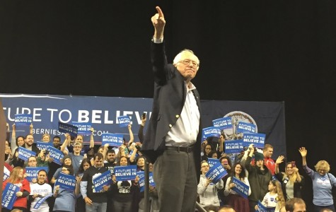 Bernie Sanders rally sparks student interest