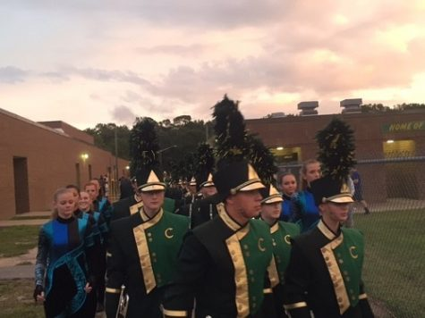 Marching Falcons take first, three competitions
