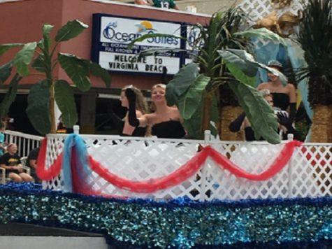 Neptune Festival parade princesses