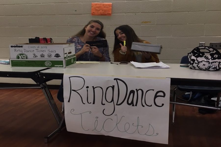 "Ring dance, a night set in ""gold"""