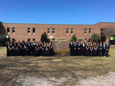 Marching Falcons win honor band status