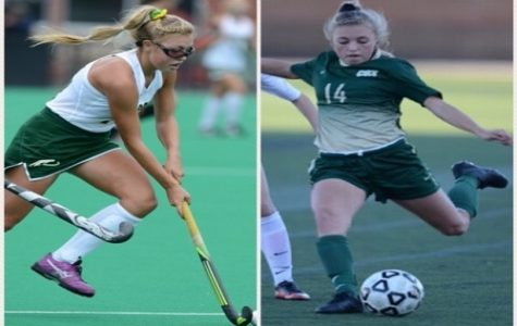 Scherrer, Gingerich named school's VBSC Athletes of the Year