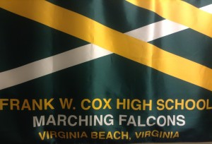 MARCHING FALCONS BAND second in the state.