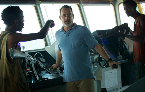 TOM HANKS STARS in the new action- suspence movie, Captain Philips. Hanks portrays Captain Phillips in the story about the events of a 2009 pirate robbery and kidnapping.