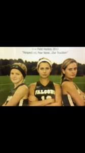 """THE SCHOOL'S FIELD hockey seniors embody the theme, """"Respect All, Fear None...Our Tradition."""""""