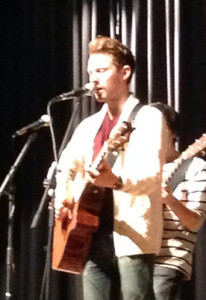 RECORDING ARTIST TAYLOR Mathews plays two free shows at the school.