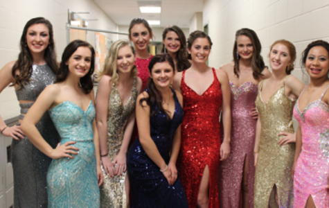 Behind the scenes: prom fashion show