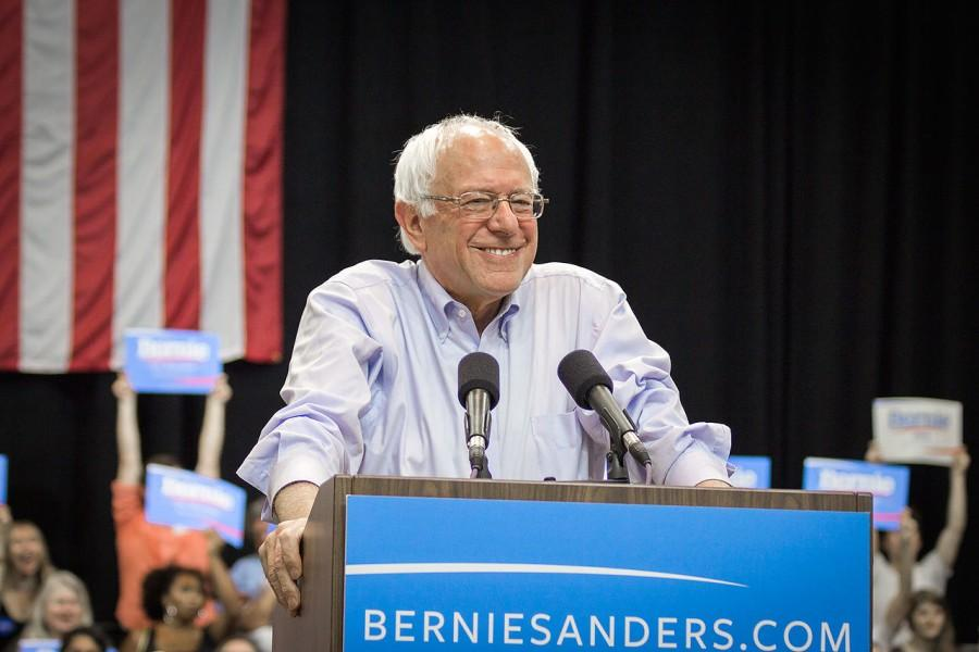 SENATOR BERNIE SANDERS  is hoping to get youth involved in volunteering for his campaign.