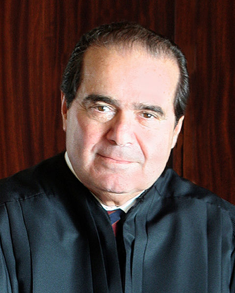 JUSTICE SCALIA PASSED away in his ranch in Western Texas on February 13.