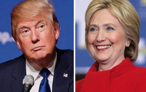 Trump versus Clinton: round 1