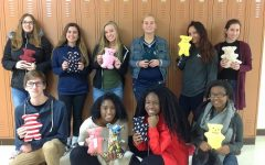FCCLA students sew bears for CHKD patients