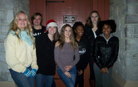 FALCON HARMONY STUDENTS performed this past weekend at Busch Garden's Christmas Town event.