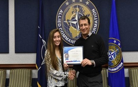 Doyon wins Model NATO Press Corps challenge