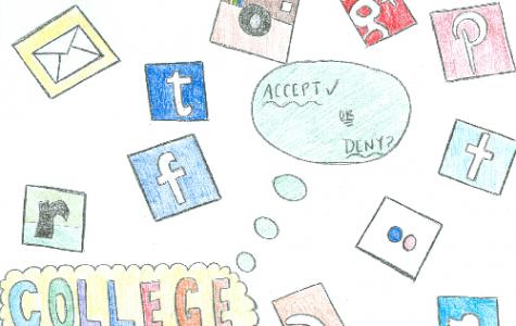 Social media acceptances, denials