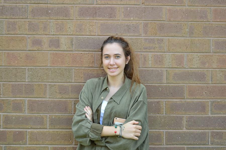 Elena Hidalgo Journalism II student