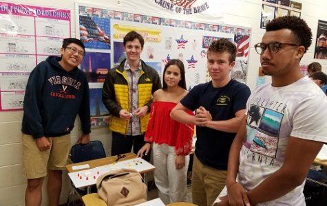 AP students make gummy bear governments