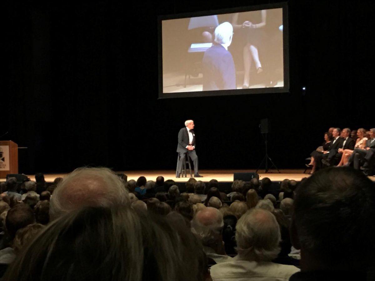 Journalists welcome Tom Brokaw, Norfolk Forum