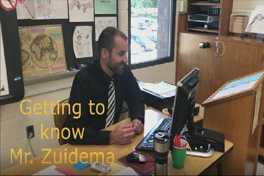 Rapid fire questions: Mr. Zuidema