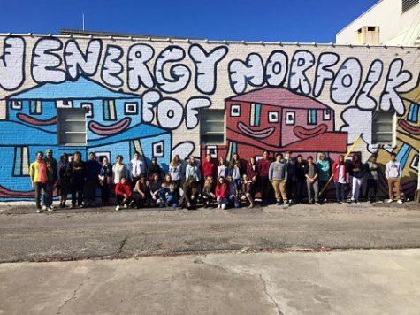 Art students go 'beyond the block'