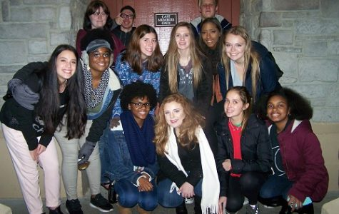 CHORUS STUDENTS PERFORMED at Busch Garden's Christmas Town this past weekend.