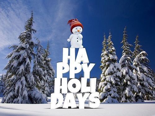 HAPPY HOLIDAYS TO all and check out our winter holiday Pinterest page.