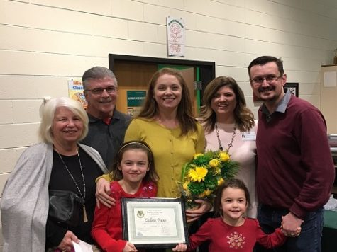 Paine named Teacher of the Year