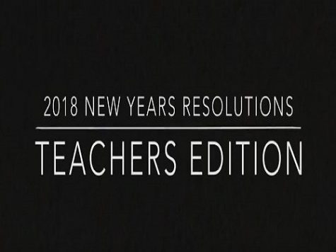 New Year's resolutions, teachers edition