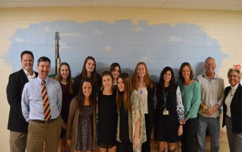DR. SPENCE AND Dr. Kelly recently met with VTfT interns, teacher Mrs. Nardelli, and various others involved in the VB Fit Run project.