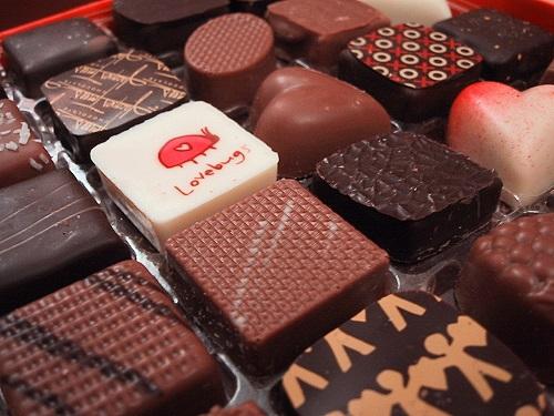 VALENTINE'S DAY INSPIRED chocolates