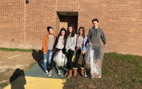 ENVIRONMENTAL CLUB WANTS to reach their goal of one hundred Pearl Homes.