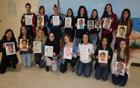 "Art students participate in ""Memory Project"""