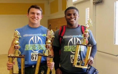 JUNIOR JACKSON MORGAN recently won several events in last weekend's Clash of the Titans football competition.
