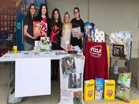 FCCLA aids Wildlife Response Inc.