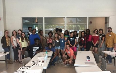 NAHS STUDENTS AS well as various local artists came together recently at the Williams Farms Community Recreation Center to create art that promotes equality and diversity within the community.