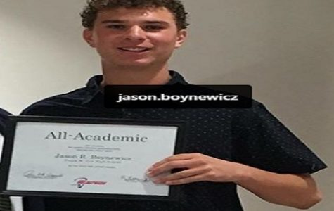 Boynewicz named as National Merit Scholarship semi-finalist