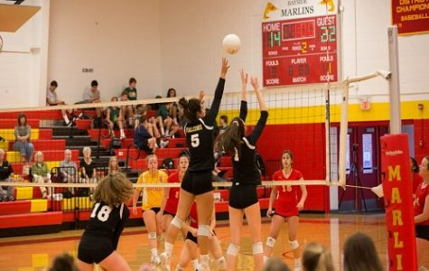 Volleyball teams face rival FC on senior night
