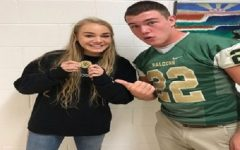 Falcon student-athletes awarded new 'Principal's Coin'