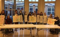 National Art Honor Society collaborates with St. Mary's