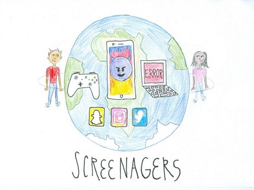 Editorial: 'screenagers', becoming the new normal