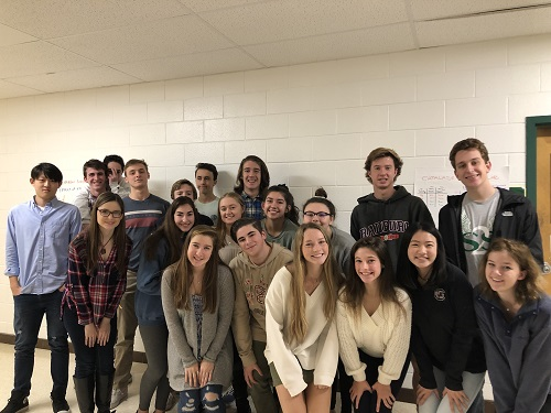 AP BIOLOGY STUDENTS prepare for their field trip to TCC on Dec. 11 and Dec. 12. AP Biology teacher Mrs. Shumate has been managing this field trip for the last four years.