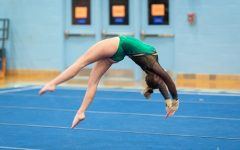 Gymnastics team flips for medals