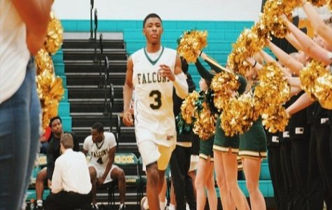 Falcon boys basketball defeats rival F.C.
