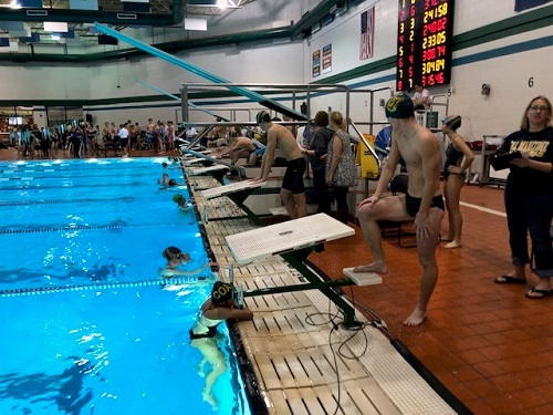 Senior swimmers take one last dive