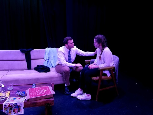 FALCON STAGE COMPANY, a part of the school's drama department, presents its One-Act play