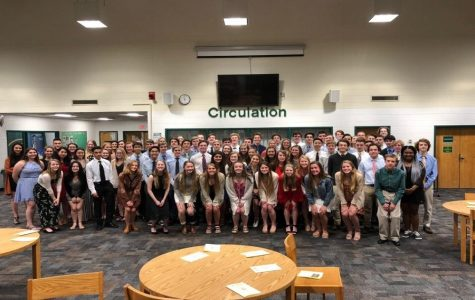 National Honor Society inducts newest members