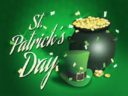 ST. PATRICK'S DAY is right around the corner.  Green and gold are always worn on this special holiday.