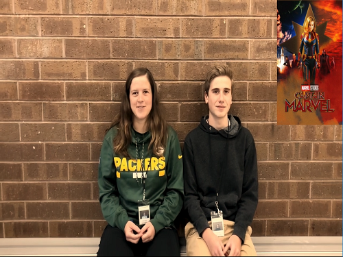 SENIOR TAYLOR EVERETT and junior Eric Michals review the movie, Captain Marvel. Everett rated the movie a perfect 10/10 while Michals awarded the film a 9/10.