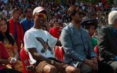 Artist Pharrell Williams hosts 'Battle of the Bands'