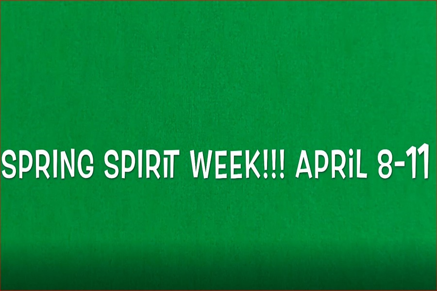 SCA HOLDS THE fourth spirit week of the year. Students are excited for the upcoming week prior to spring break.