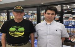 Freshman Parks Schmidt collects military artifacts, converses with veterans